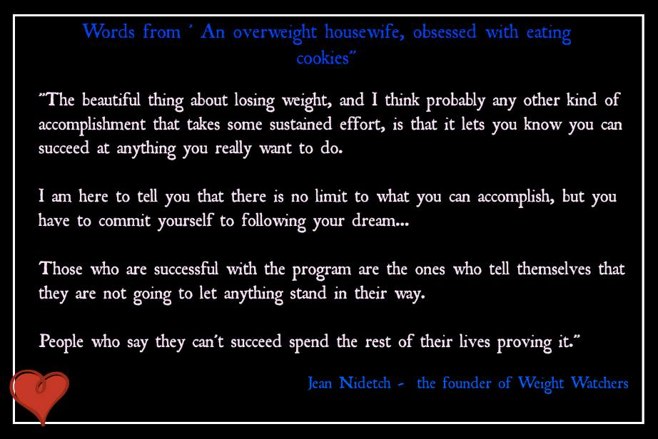 Quotes By Jean Nidetch Like Success